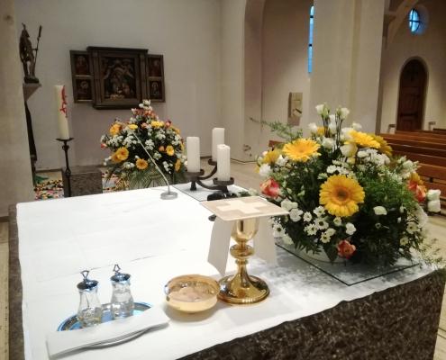 St.-Martinus-Kirche zur Erstkommunion 2020