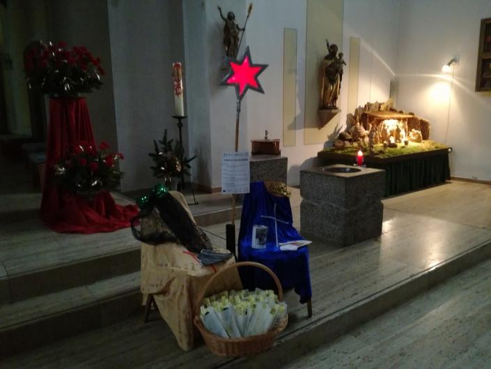 Segensstation in St. Martinus
