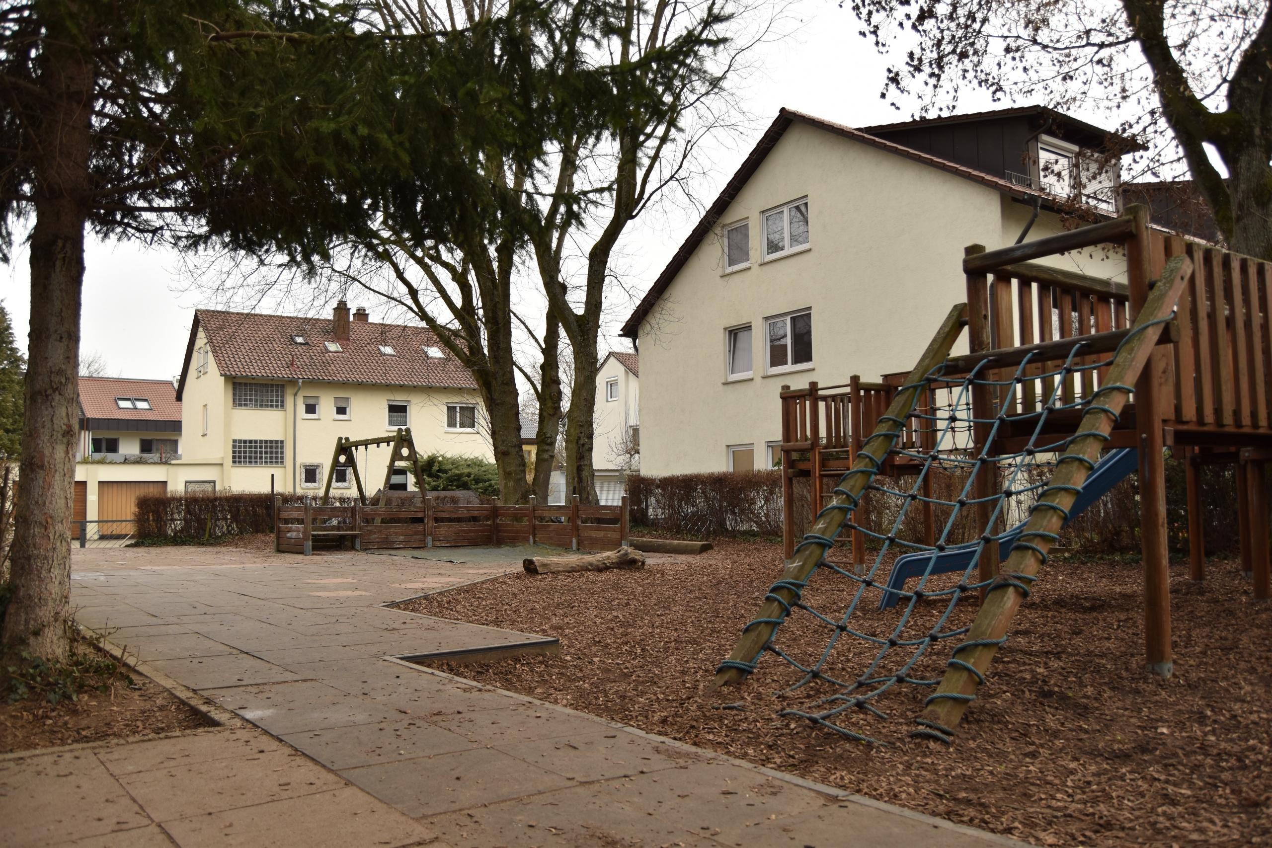 Der Garten der Kindertagesstätte St. Christophorus